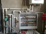 Монтаж систем отопления и теплого пола в Горках